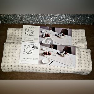 Project 62 table runner regular and extended sizes